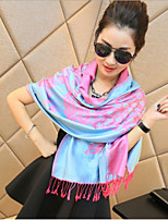 Cotton National Wind Korean Autumn And Winter Female Literary Bohemian Retro Thick Winter Scarves Large Shawl