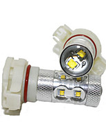 Classic Mustang H16 LED Fog Lamp 12V 40W Car LED Fog Lamp CREE LED White Color