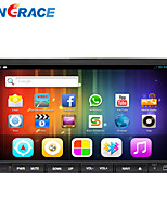Rungrace Android 4.4 7 Inch In-Dash Car DVD Player Multi-Touch Capacitive with WIFI,GPS,RDS,IPOD ,Bluetooth,Touch Screen