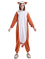 New Cosplay® Chipmunk Polar Fleece Adult Kigurumi Pajama (without Shoes)