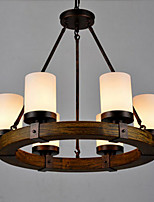 Vintage Old Wood Wooden Chandeliers Do 6