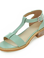 Women's Shoes Leatherette Chunky Heel Comfort Sandals Outdoor / Office & Career / Party & Evening / Dress /