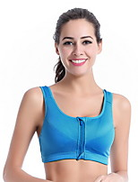 Pregnant Women's Full Coverage Bras,Nursing / Wireless Polyester / Spandex non-wired with Velcro Tape