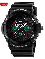 Montre de sport Hommes / Femme / Unisexe LCD / Calendrier / Chronographe / Etanche / Double Fuseaux Horaires / Montre de Sport Numérique