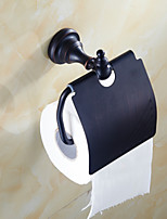Antique Black Bathroom Accessories Solid Brass Toilet Paper Holders