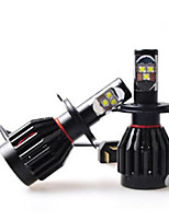 2PC 60W Car Cree LED HeadLight Bulbs Replace H1 H3 H7 H9 H10 H11 9012 5012 9005 9006 Car CREE LED Headlight