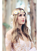 daisy wedding flower bridal hair accessory hair wreath silk headpiece, flower for hair, flower for hair flower headband