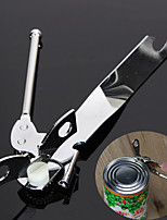 Stainless Steel Bottle Opener Practical Heavy Duty Classic Metal Steel Food Tin Can Bottle Opener Kitchen