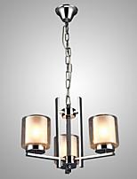 MAX60W Contemprâneo Estilo Mini / Estilo Candle Galvanizar Metal Lustres Sala de Estar / Quarto / Cozinha