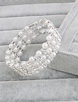 Women's Strand Bracelet Silver / Pearl Pearl