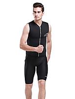Ultraviolet Resinstant Tops Dive Skins for Men Chinlon Short Sleeve