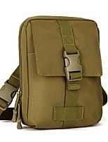 Military Style Outdoor Sports Waist Bag-Shoulder Bag For 7 Inch Pad Coyote