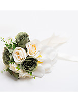 Wedding Flowers Cascade Roses Bouquets