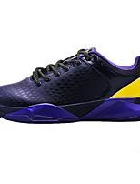 Scarpe da uomo-Scarpe da ginnastica / Sneakers alla moda-Sportivo / Casual-Finta pelle / Vernice-Nero / Bianco