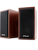 Jituo Computer or Tablet Bass Speaker Jt2801 Brown