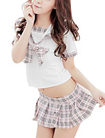Women Uniforms & Cheongsams / Babydoll & Slips / Ultra Sexy Nightwear,Polyester