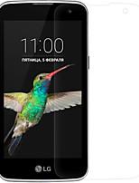 emballage de film de protection scratch NILLKIN mat preuve adapté pour LG téléphone mobile k4