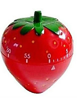 Cute Strawberry Shape Countdown Reminder 1pc Furniture Supplies Kitchen Timer