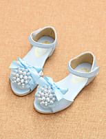 Girls' Shoes Party & Evening / Dress / Casual Peep Toe / Comfort / Round Toe / Open Toe  Sandals Blue / Pink / Beige