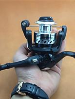 Mini Metal Aluminum Spool 200 Size Spinning Reel 5.2:1 4 BB Freshwater Fishing Ice Fishing Carp Spinning Fishing Reels