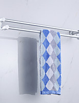 Single Pole Contemporary Space Aluminum Anodizing Wall Mounted Towel Warmer