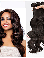 3Pcs Lot Peruvian Hair Extension 100% Virgin Human Hair Body Wave Weft Bundles