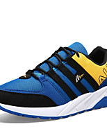 Men's Shoes Outdoor / Athletic / Casual Tulle Fashion Sneakers Blue / Gray