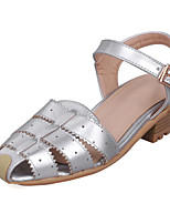 Women's Shoes Low Heel Sling back Sandals Dress/Casual Pink/Red/White/Silver