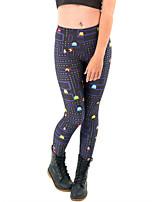 Women Print Legging,Spandex Medium