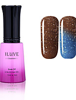 ILuve Nail Polish Temperature Colour Changing Chameleon UV Led Gel - For Nail Art - Long Lasting Soak Off Varnish # 5757