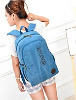 Unisex Canvas / Polyester Weekend Bag Tote / Backpack / Sports & Leisure Bag / Travel Bag-Multi-color