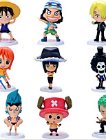 The 69 Generation 9 Family Portrait Straw Hat Pirates 9 Person Model Assembly Version