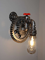 Creative Iron Bar Restaurant Bar Aisle Wall Lamp Wall Lamp Loft Industrial Gear Personality To Do The Old Water Pipes