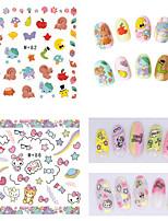 1pcs Fresh Nail Watermark Sticker82-86