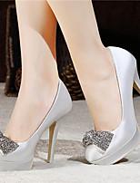 Scarpe da sposa - Scarpe col tacco - Tacchi / Plateau / Chiusa - Matrimonio / Formale / Serata e festa - Rosso / Bianco / Champagne -Da