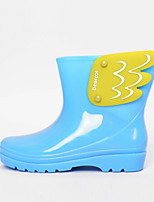 Girls' Shoes Outdoor Rain Boots Rubber Boots Black / Blue / Yellow / Pink