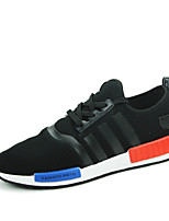 Men's Shoes Outdoor / Office & Career / Athletic / Casual Fabric Fashion Sneakers Black / Blue