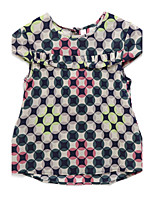 Girl's Green Dress Cotton Summer