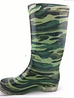 Women's Shoes Silicone Flat Heel Rain Boots Flats / Boots Outdoor 1# / 2#