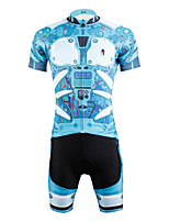 PaladinSport Men's  Cycyling Jersey + Shorts  Bike Suits DT610 armor