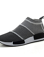 Men's Sneaker Shoes Tulle Black and White