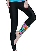 Ultraviolet Resinstant Bottom Dive Skins for Women Chinlon/Elastance Long
