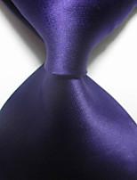 New Solid Purple JACQUARD WOVEN Men's Tie Necktie TIE2055