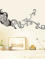 Creative Butterfly Wall Stickers Waterproof Removable Cartoon Wall Stickers For DIY Living Room Bedroom Sofa Wall Decals