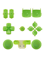 Replacement Controller Case Assembly Kit Set for PS3 Yellow/Blue/Green
