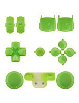 regolatore di sostituzione kit di montaggio caso impostato per ps3 giallo / blu / verde