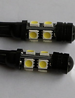 T10  5050-8SMD+1W Side Marker Light White Blue Red