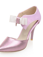 Women's Shoes Leatherette Stiletto Heel Heels Heels Wedding / Office & Career / Party & Evening / Dress Purple / Gold