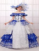 Steampunk®Georgian Rococo Style Wedding Dresses  Victorian Formal Dress