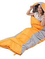 Hollow Cotton Nylon Taffeta Lining Single Rectangular Bag/Sleeping Bag for Camping and Hiking
